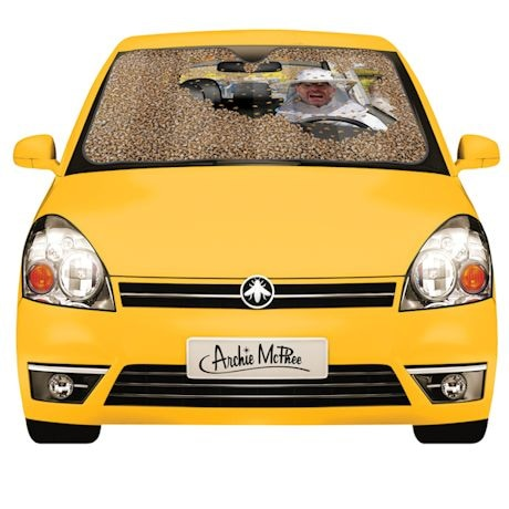 Car Full of Bee Auto Sunshade