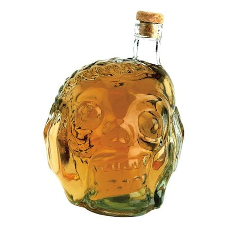 Zombie Head Spirit Decanter