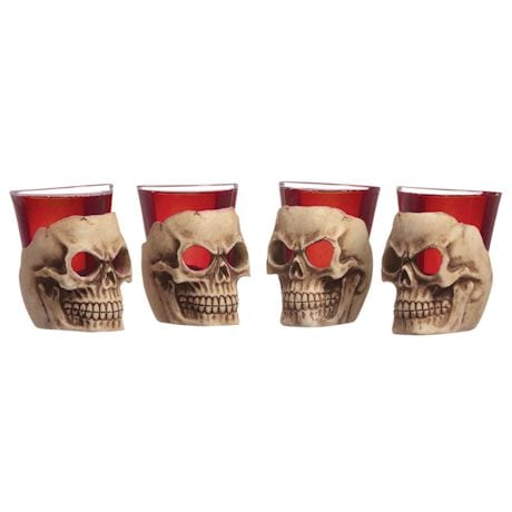 Deadshot Skull Shot Glasses