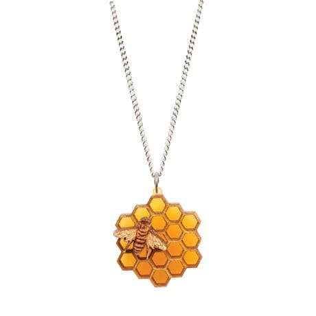 Bee Honeycomb Jewelry