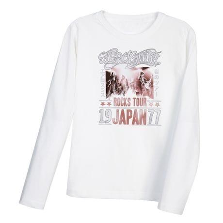 Aerosmith 1977 Japan Tour T-Shirt