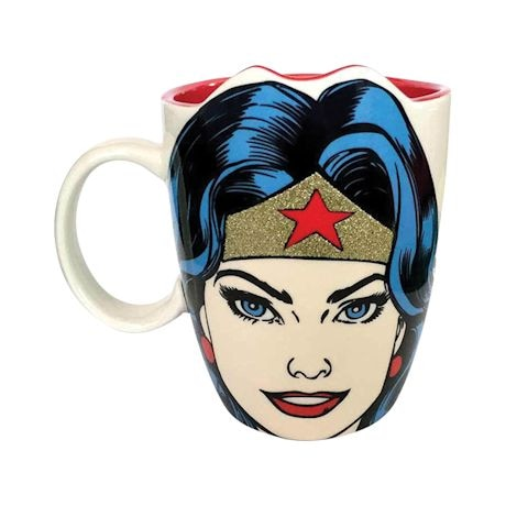 Sparkly Wonder Woman Mug