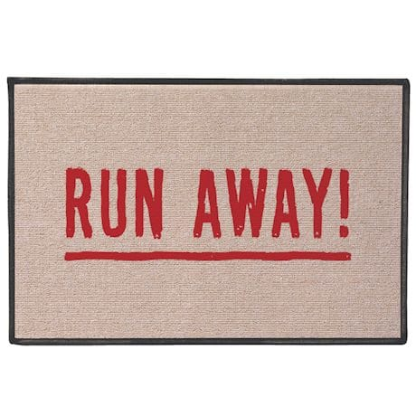 Run Away! Doormat