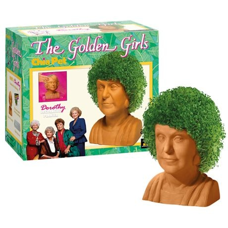 Golden Girl Chia Heads
