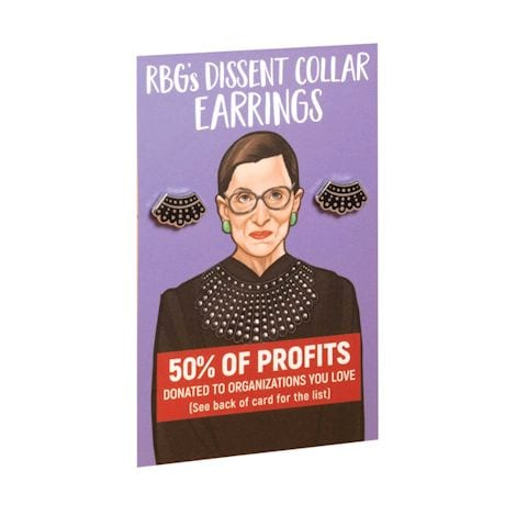 Ruth Bader Ginsburg (RBG) Dissent Jewelry