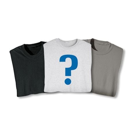 4 Blank Mystery Shirts
