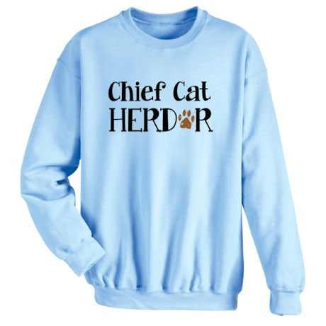 Chief Cat Herder T-Shirts