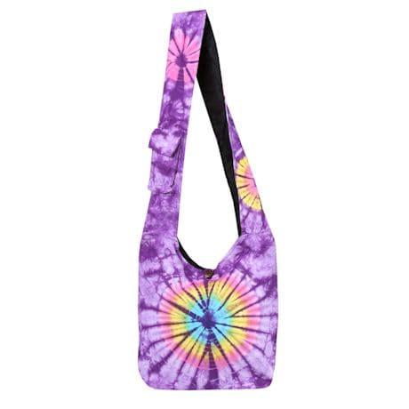 Tie-Dye Hobo Tote Bags