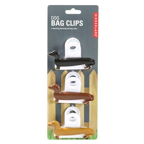 Dachshund/Wiener Dog Bag Clips