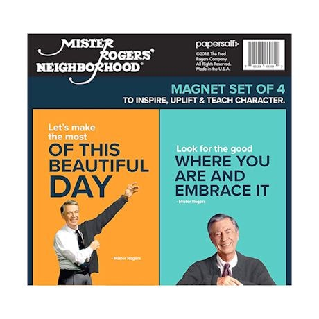 Mister Rogers Inspirational Book And Magnets