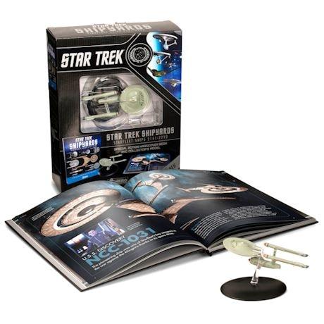 Star Trek Shipyards Starfleet Ships: 2151-2293 Special Edition Book Plus Collectible