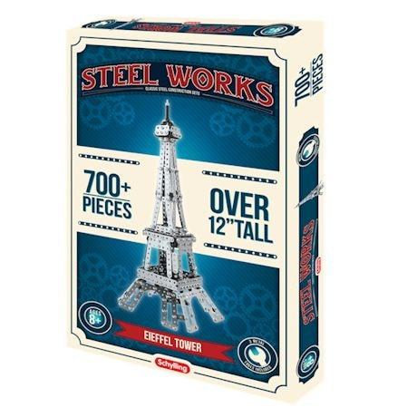 Steel Works Building Construction Sets