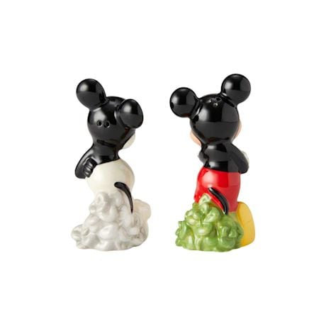 Classic Vs. Modern Mickey Mouse Salt-and-Pepper Shakers