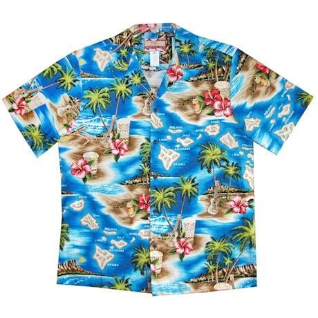 Matching Dog & Owner Hawaiian Shirts
