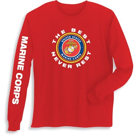 The Best Never Rest Military T-Shirts