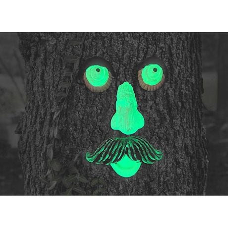 Glow-In-The-Dark Tree Face