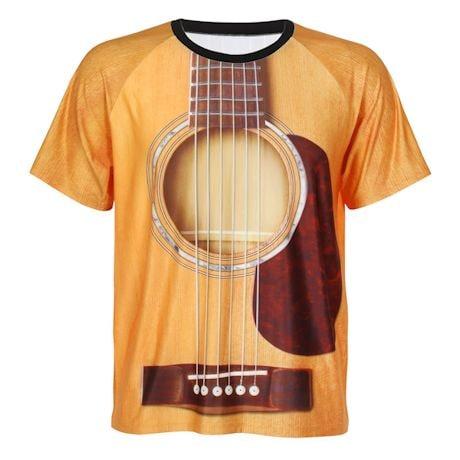 Sublimated Guitar Shirt