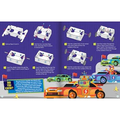 Maker Lab Kits - Wired-Remote Race Car