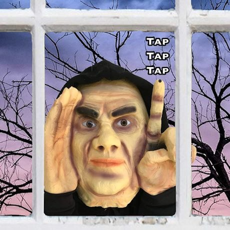 Scary Window Tapping Peeper