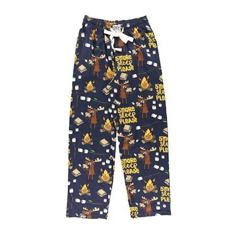 S'more Sleep Please Pajama Pants - Humor Lounge Pants