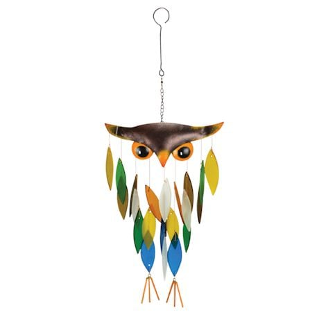 Handmade Owl Windchime