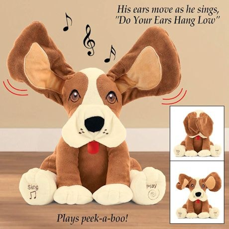 Interactive Musical Floppy-Eared Dog