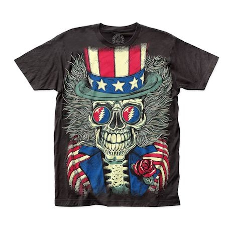 Grateful Dead Patriotic Skelly Shirt