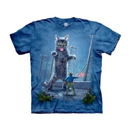 Jurassic Kitten (T-Rex), Cat Spoof Movie Shirts