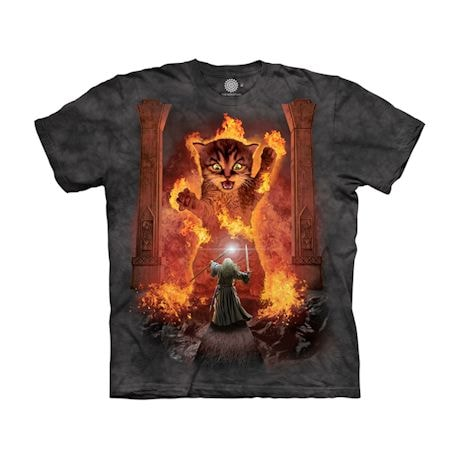 You Shall Not Pass (Balrog), Cat Spoof Movie Shirts