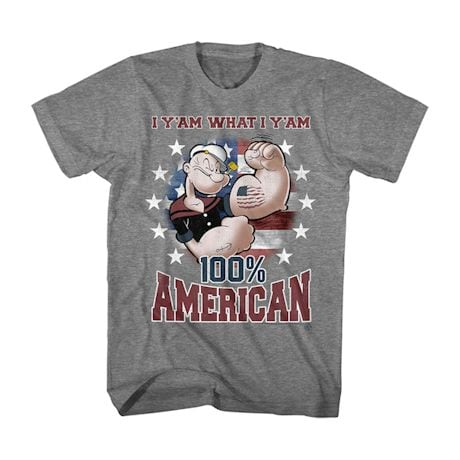 Popeye 100% American Shirt