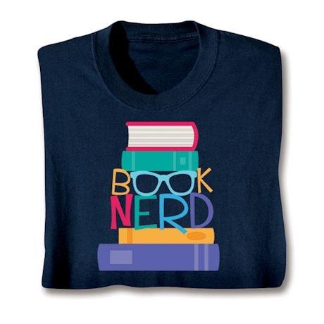 Book Nerd T-Shirts