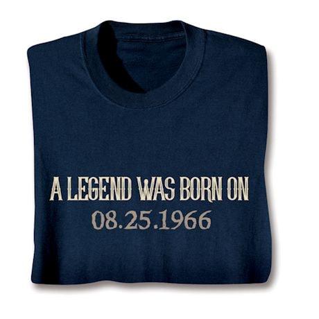 Personalized Legend Shirts
