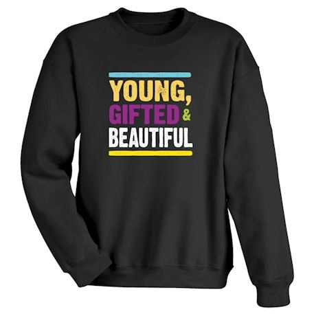 Personalized Young, Gifted Shirts