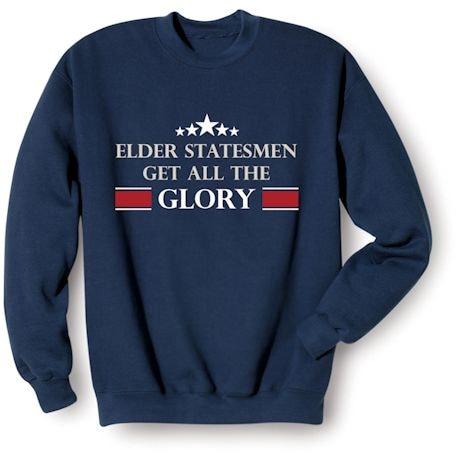 Personalized Elder Statesmen Shirts