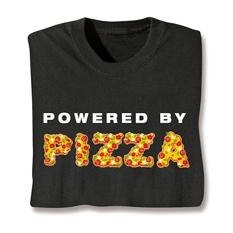 "Powered By ""Food"" Shirts"