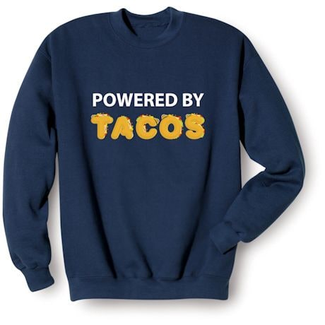 """Powered By """"Food"""" Shirts"""