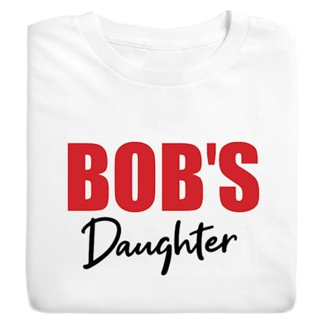 Personalized His/Her Family Shirts