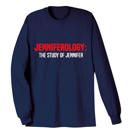 Personalized Your Name 'Ology' Shirts