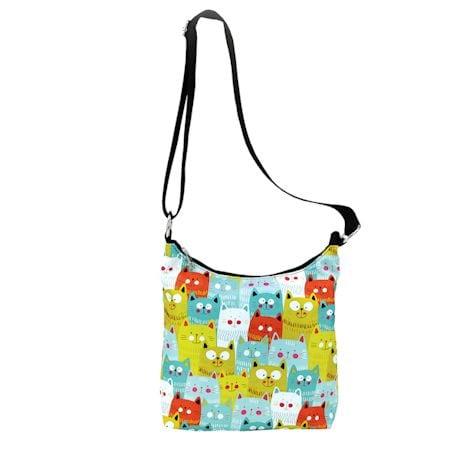 Cat Faces Shoulder Bag