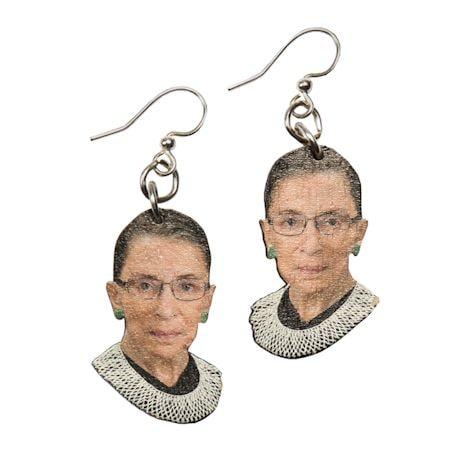 Ruth Bader Ginsburg (RBG) Portrait Jewelry