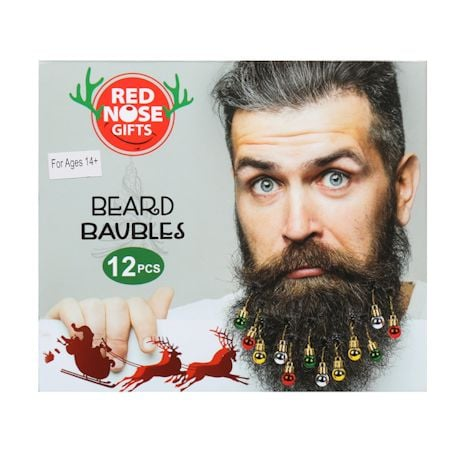 Holiday Jingle Ornaments Beard And Hair Accessories