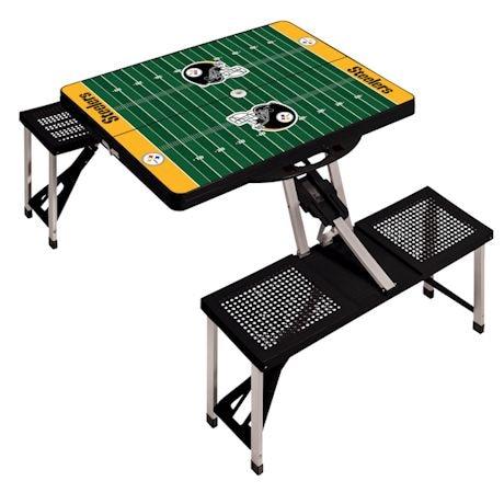 NFL Picnic Table w/Football Field Design