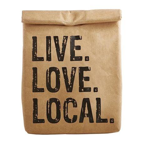Brown Bag Lunch Cooler Bag