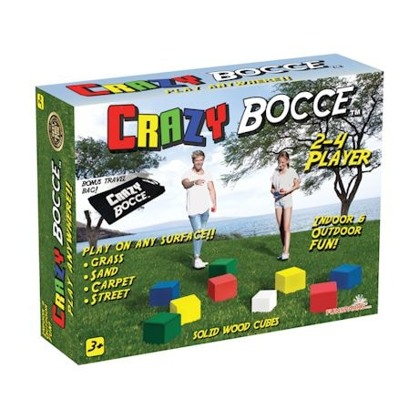 Crazy Bocce And Lawn Darts Games