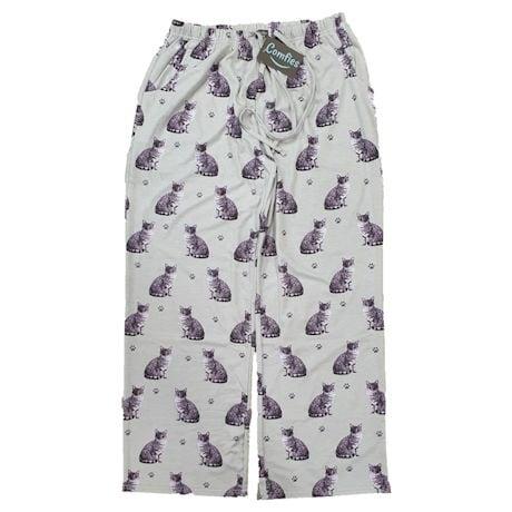 Grey Tabby Cat Lounge Pants