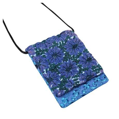 Altiplano Blue And Purple Purses