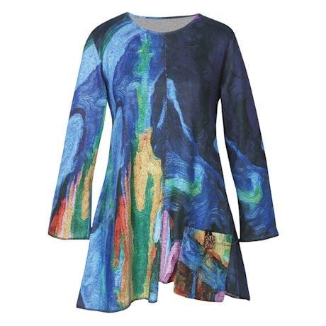 Layla Swirly Colors Tunic