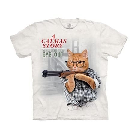 Holiday Cat Spoof Shirt