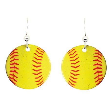 Photo-Realistic Sports Earrings