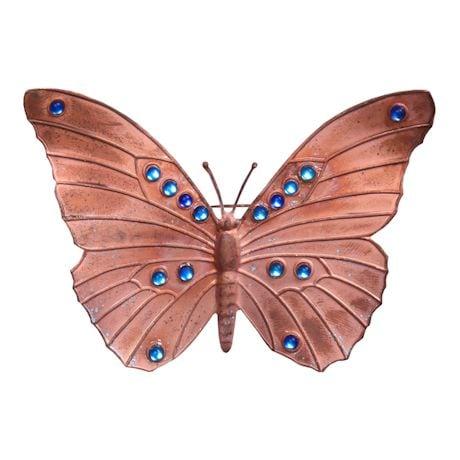 Copper Butterfly Pin